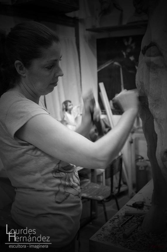 lourdes hernandez escultora